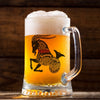 Capricorn Zodiac Sign Beer Mug