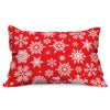 Indigifts Merry Christmas Ornaments Printed Recatngle Cushion Covers - Christmas Cushion, Christmas Decorations for House, Christmas Frdige Magnets
