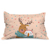 Indigifts Christmas Decorations for House Merry Christmas Holiday Décor Recatngle Cushion Cover - Christmas Cushion, Xmas Decorations, Christmas Gifts, Christmas Pillow