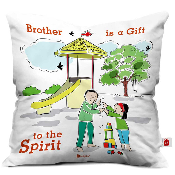 Indigifts Siblings Are Gifts Forever Multi Cushion Cover