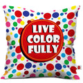 Indigifts Live Color Fully Cushion Cover And Coffee Mug Combo