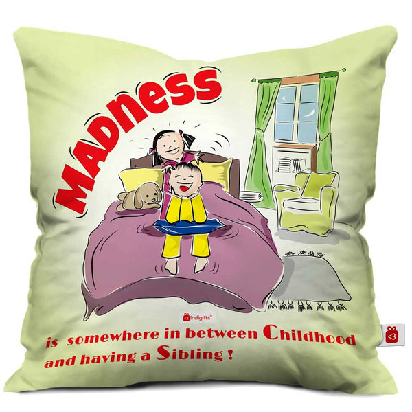 Indigifts Childhood Fun Multi Cushion Cover