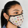 Indigifts Emoji Pattern Anti Dust/Pollution Nose Mask