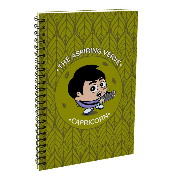 Capricorn The Aspiring Verve Green Diary