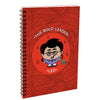 Indigifts Leo The Bold Leader Red Diary