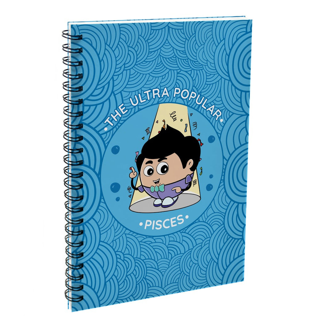Pisces The Ultra Popular Blue Diary