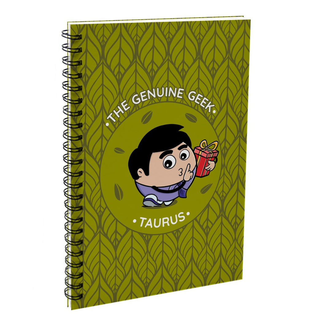 Taurus The Genuine Geek Green Diary