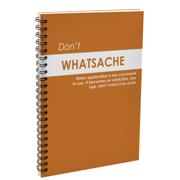 Don't Whatsache Orange Diary