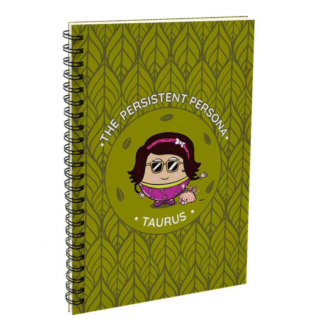 Taurus The Persistent Persona Green Diary