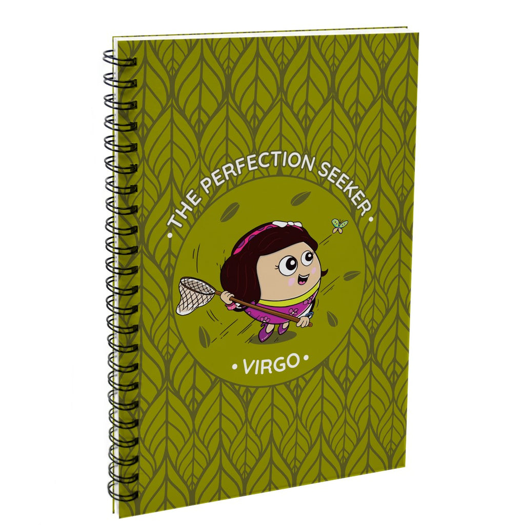 Indigifts Virgo The Perfection Seeker Green Diary