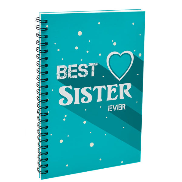 Best Sister Ever Blue Diary