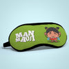 "Friendship Gifts For Best Friend Manmauji Printed Sleeping Eye Mask For Girls 8.6"" x 4"" - BFF Gifts, Funny Birthday Gift for Friend, Sister, Girl, Roommate, Eye Mask For Girls"