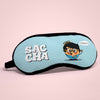 "Birthday Gift For Brother Saccha Printed Sleeping Mask For Boys 8.6"" x 4"" - Funny Gift idea, Birthday Present for Friend, Boy, Friendship Day Gift for Boy, Funny Eye Cover for Men"