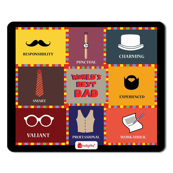 Colourful Checks Graphic Multi Mouse Pad