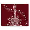 Indigifts Decor for Living Room  Printed Maroon Mouse Pad  8.5x7 inches | Ethnic Printed Items, House Warming Gift Items, Mousepad for Gift