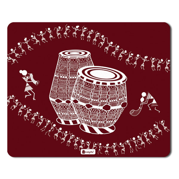 Diwali Gift Items  Printed Maroon Mouse Pad  8.5x7 inches | Diwali Gift Items, Digital Print Items, Mousepad for Laptop