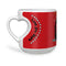 indigifts Love You More Quote Romantic Scene In Which Boy Is Kissing Girl's Hand Red Heart Shape Mug