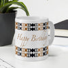 Indigifts Happy Birthday to You Printed Ceramic Mug 330 ml for Birthday Gifts for Friends