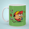Indigifts Green Coffee Mug for Bhukkad Buddy