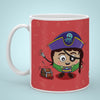 Indigifts Khurafati - Conquer the world with your superpowers Red Coffee Mug