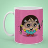 Indigifts Kalakaar - It's all about knowing the unknown Pink Coffee Mug