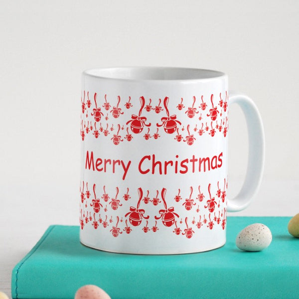 Festival Ornaments In A Seamless Pattern Coffee Mug