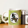 Indigifts Capricorn Zodiac Green Coffee Mug