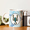 Indigifts Scorpio Zodiac Blue Coffee Mug