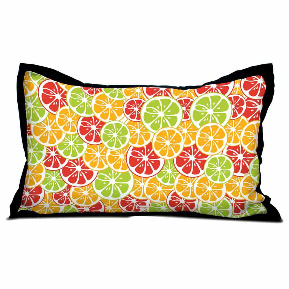 Fruit Pattern Pillow Cover