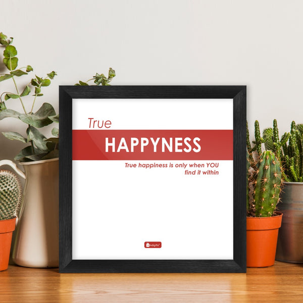 Funny Wall Quotes for Home and Office Décor | White Poster Frame | Funky Quotes Printed Wall Posters, Unique Gift Idea for Friends, Poster Framed for Wall