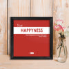 Indigifts Funny Wall Frames for Home & Office, Quirky Humour Poster with Frame | Pink Poster Frame | Unique Gift Idea for Friend, Roommate, Farewell Gift