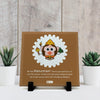Be Like Hanuman Printed Table Décor Ceramic Tile 6x6 Inches