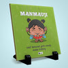 Manmauji Printed Table Décor Ceramic Tile 6x6 Inches