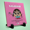 Kalakaar Printed Table Décor Ceramic Tile 6x6 Inches