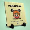 Pehalwan Printed Table Décor Ceramic Tile 6x6 Inches