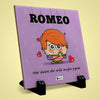 Romeo Printed Table Décor Ceramic Tile 6x6 Inches