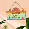 Garden filled with Love Multicolor Wall Hanging