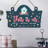 This is Us Printed Wooden Door Hanging