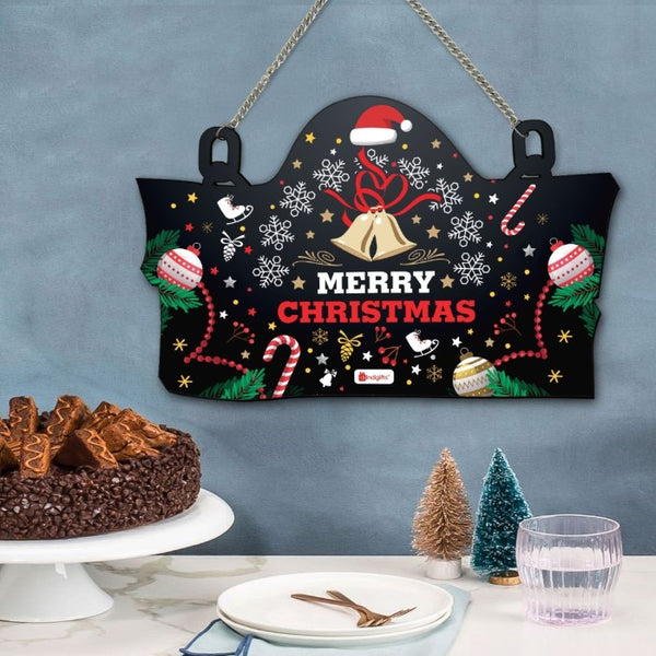 Christmas Home Decoration Items Merry Christmas Printed Wall, Christmas Gifts For Friends