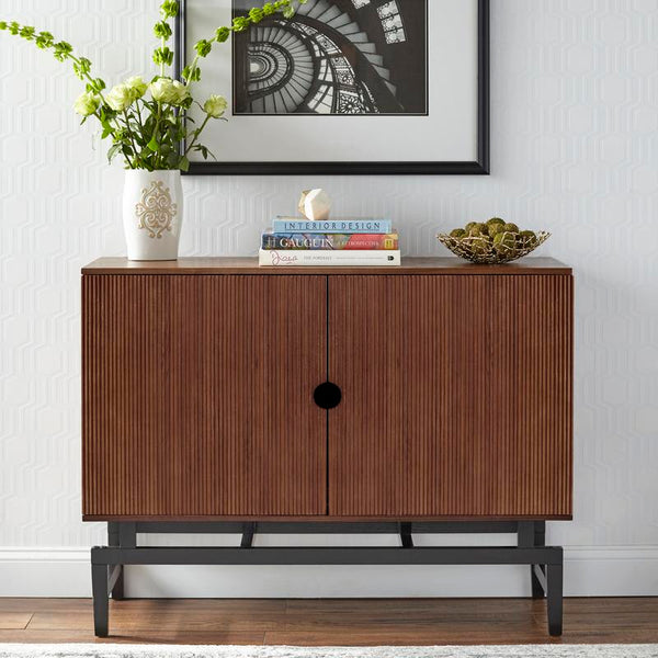 [color] angelo:HOME TV Console/Buffet Cabinet - Luxe (walnut) [variant]