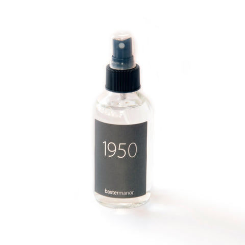 1950 #OurHistoryCollection Room and Linen Spray by Baxter Manor