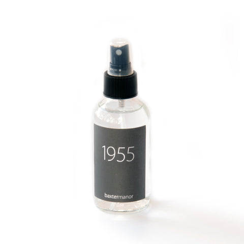 1955 #OurHistoryCollection Room and Linen Spray by Baxter Manor