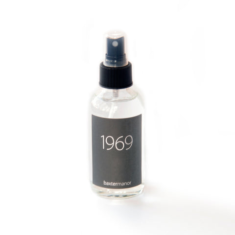 1969 #OurHistoryCollection Room and Linen Spray by Baxter Manor