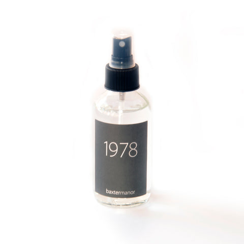 1978 #OurHistoryCollection Room and Linen Spray by Baxter Manor