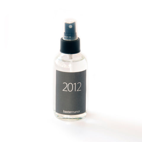 2012 #OurHistoryCollection Room and Linen Spray by Baxter Manor