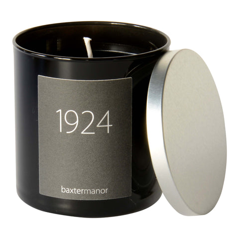 Baxter Manor 1924 #OurHistoryCollection Candle in Black