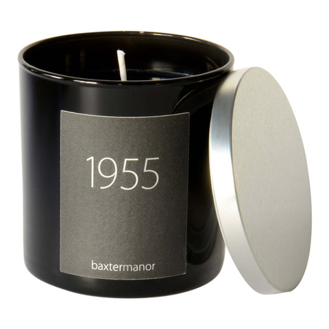 Baxter Manor 1955 #OurHistoryCollection Candle in Black