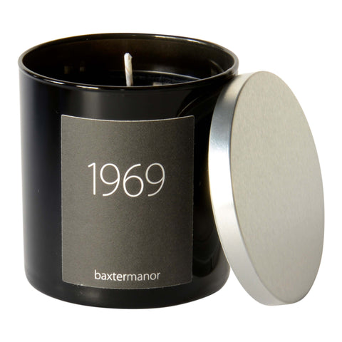 Baxter Manor 1969 #OurHistoryCollection Candle in Black