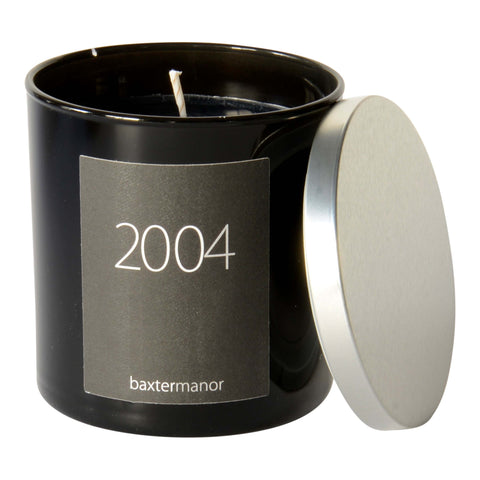 2004 #OurHistoryCollection Candle by Baxter Manor in Black