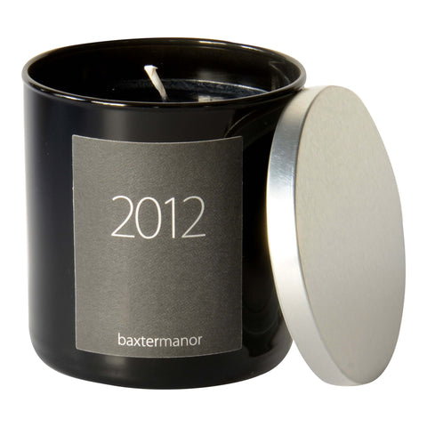2012 #OurHistoryCollection Candle by Baxter Manor in Black